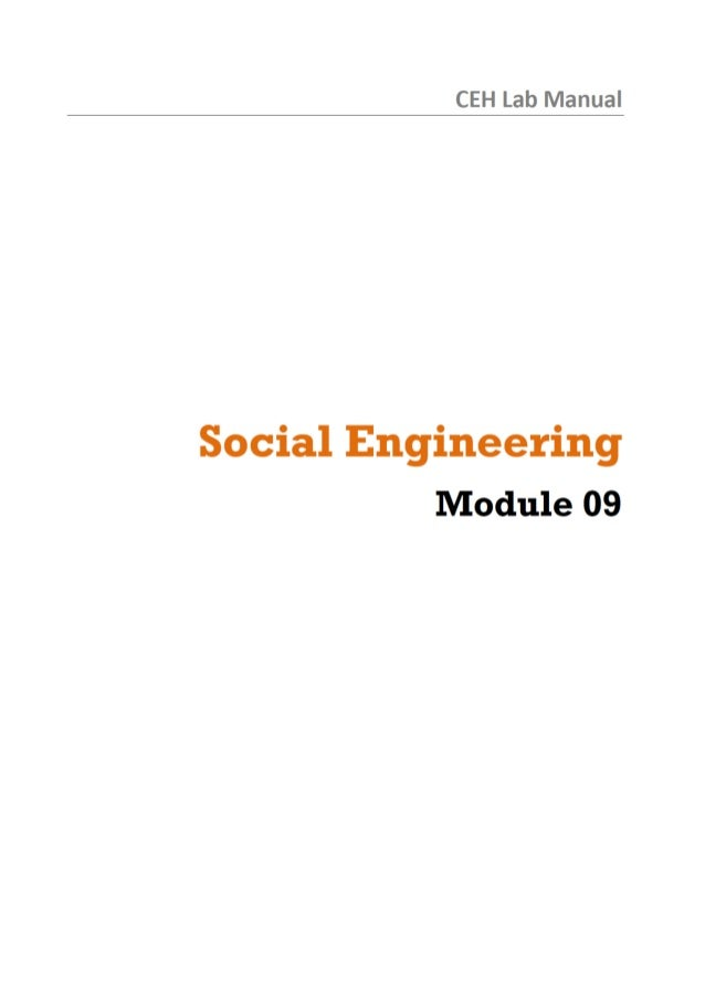 CEH Lab Manual  Social Engineering Module 09