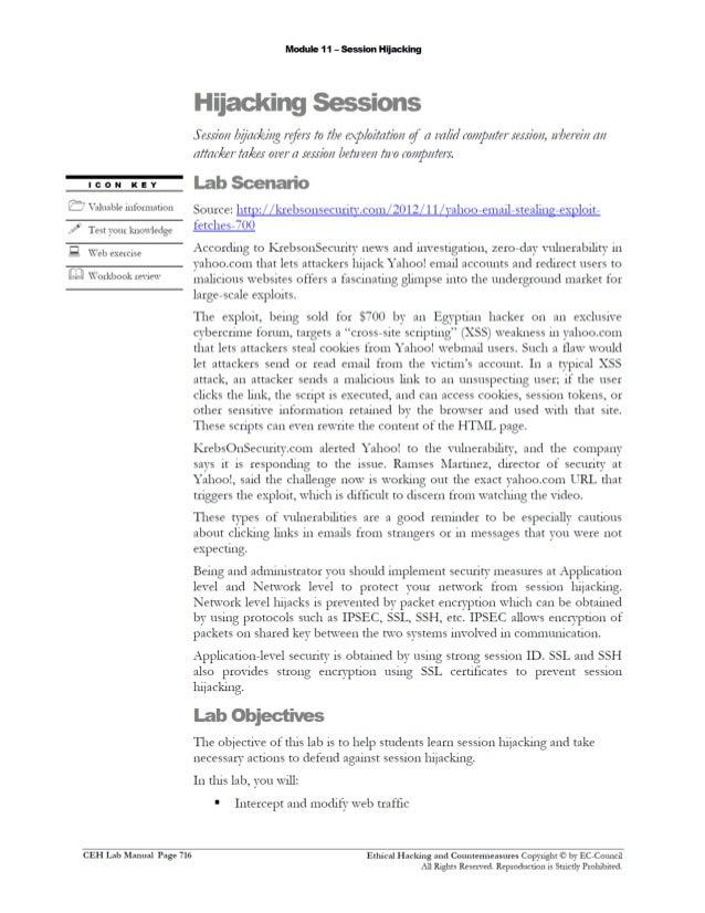 ceh v8 labs module11 session hijacking ceh v9 lab manual pdf download ceh v10 lab manual