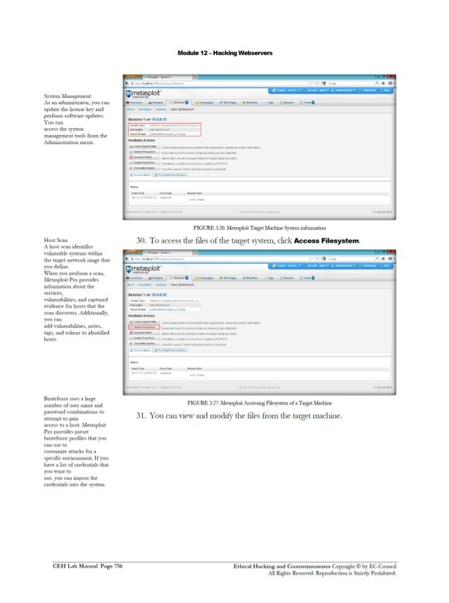 Cehv8 Labs - Module12: Hacking Webservers