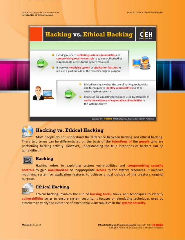 Ethical hacking and countermeasures attack phases