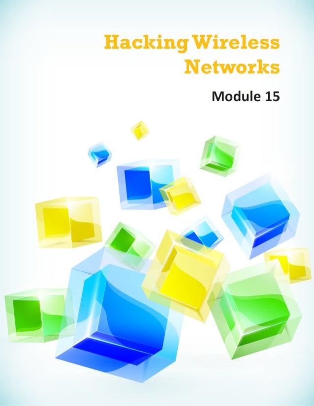 Cehv8 - Module 15: Hacking Wireless Networks