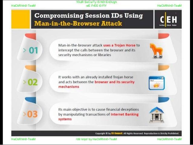 CEHv9 : module 10 - session hijacking