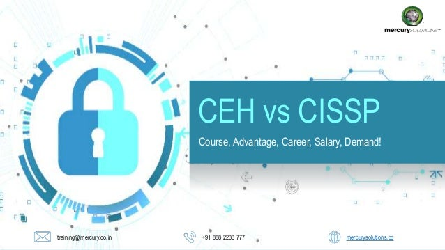 Ceh vs Cissp difficulty, Salary, Job!