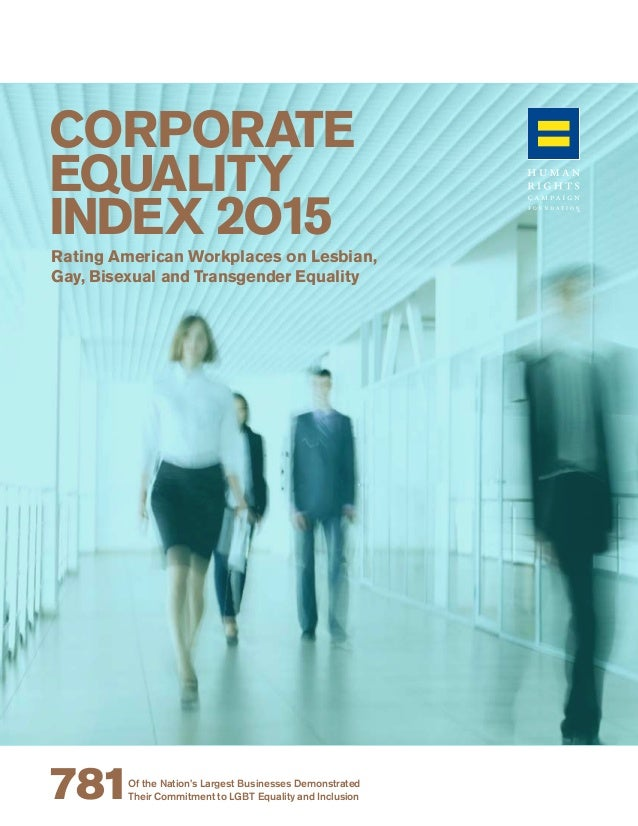 Corporate Equality Index 2015