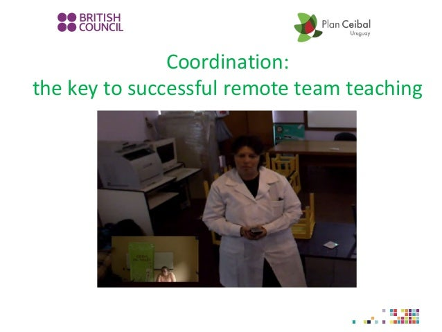 Coordination: the key to successful remote team teaching