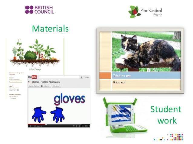 Materials Student work