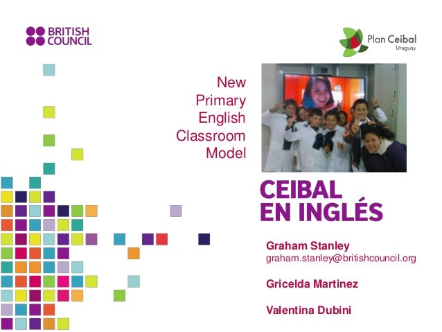 Graham Stanley graham.stanley@britishcouncil.org Gricelda Martinez Valentina Dubini New Primary English Classroom Model
