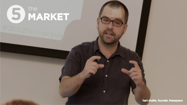 MARKET the hart shafer, founder, theraspecs