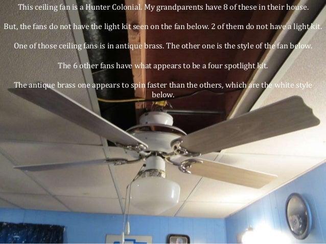 17. This Hugger Ceiling Fan ...