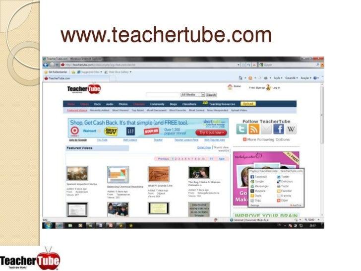 www.teachertube.com<br />
