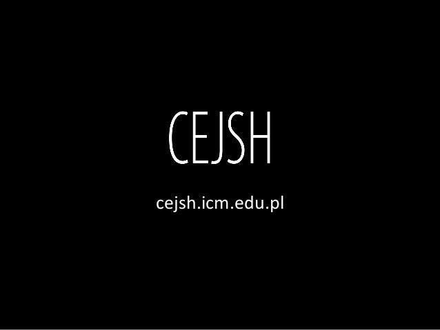 cejsh.icm.edu.pl