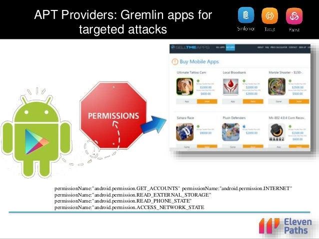 Tacyt Demo 3: Profiling Attack - Clicker