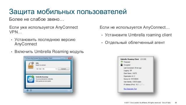 Cisco Umbrella как облачная платформа защиты от угроз