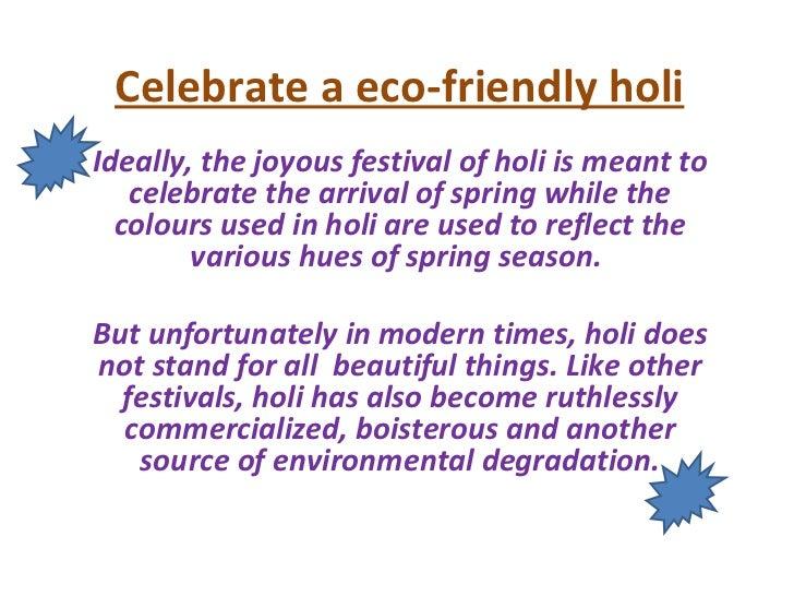 Short Paragraph on Holi Festival