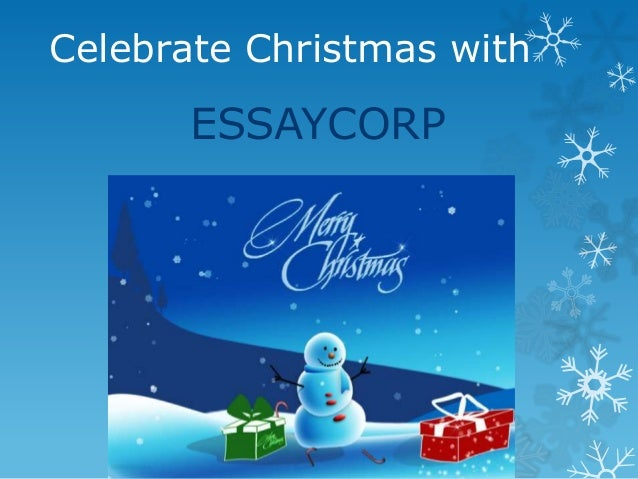 essay on christmas day celebration