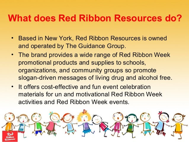 Celebrate red ribbon week 2015 with red ribbon resources