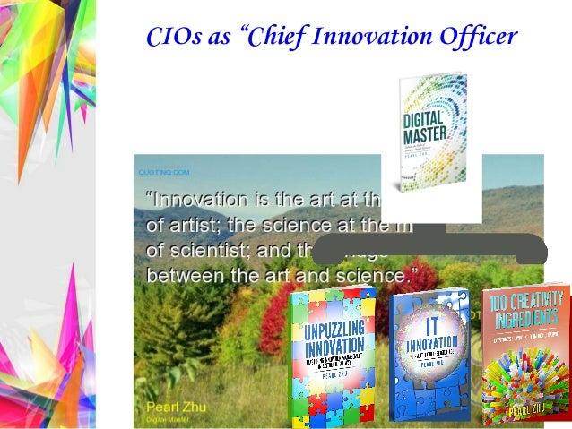 "CIOs as ""Chief Innovation Officer"