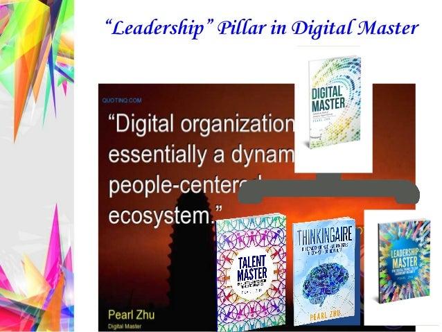 """""""Leadership"""" Pillar in Digital Master"""