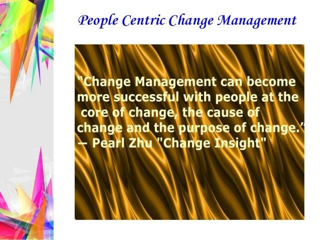 People Centric Change Management