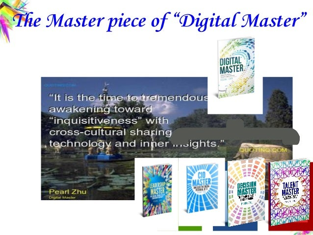 """The Master piece of """"Digital Master"""""""