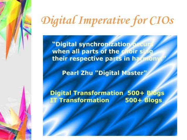 Digital Imperative for CIOs