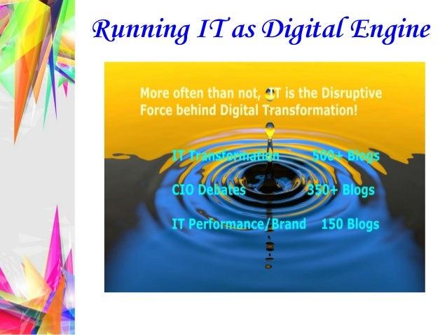 Running IT as Digital Engine