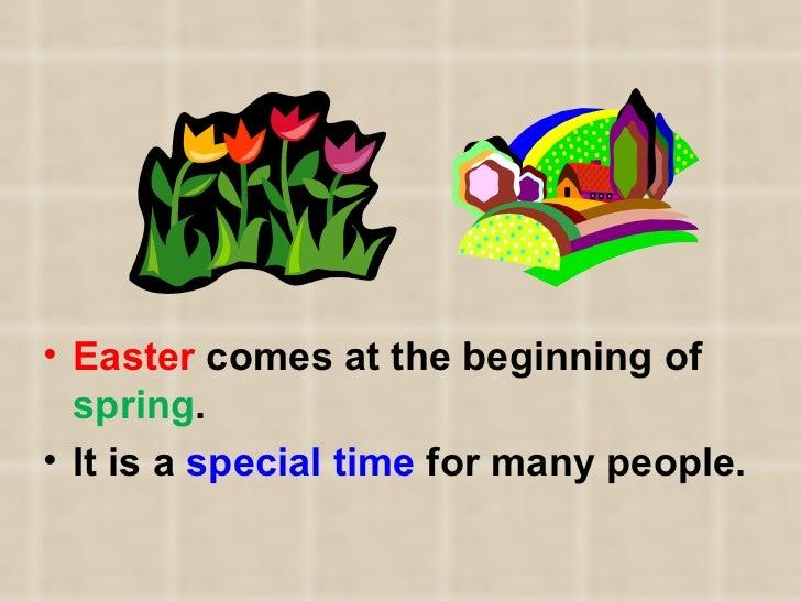 Celebrating Easter Slide 2
