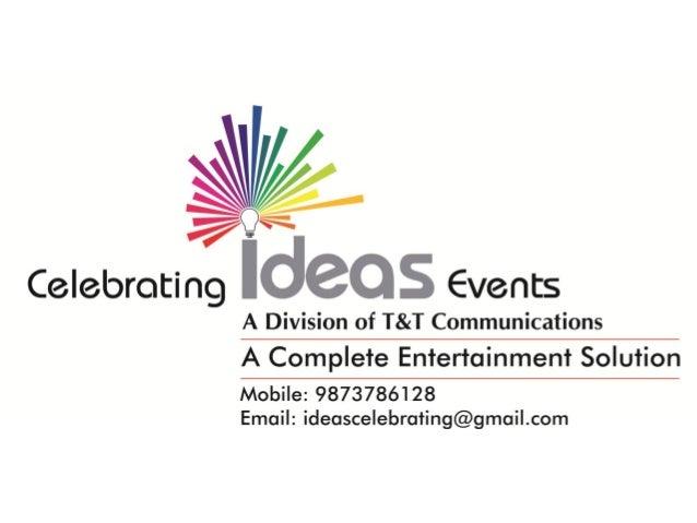 Celebrating Ideas Events