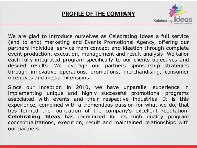 Celebrating Ideas Events Slide 3