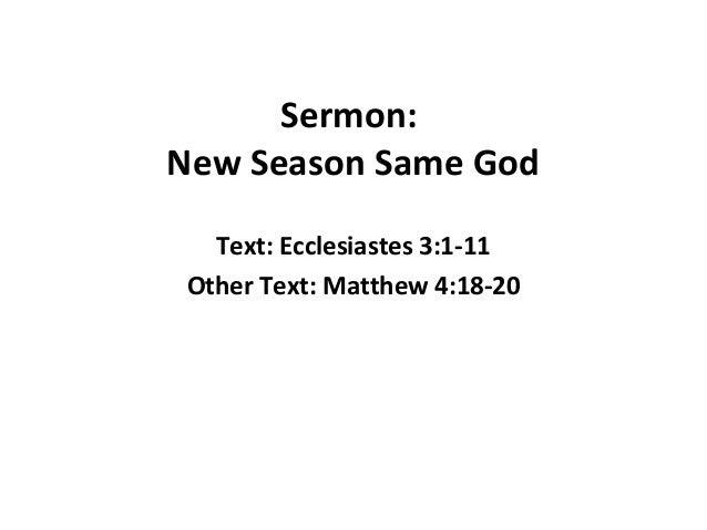 Celebration sunday sermon notes