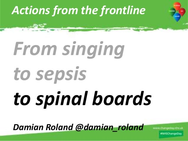 Actions from the frontline - The largest day of simultaneous action in the history of the NHSFrom singing to sepsis to spi...