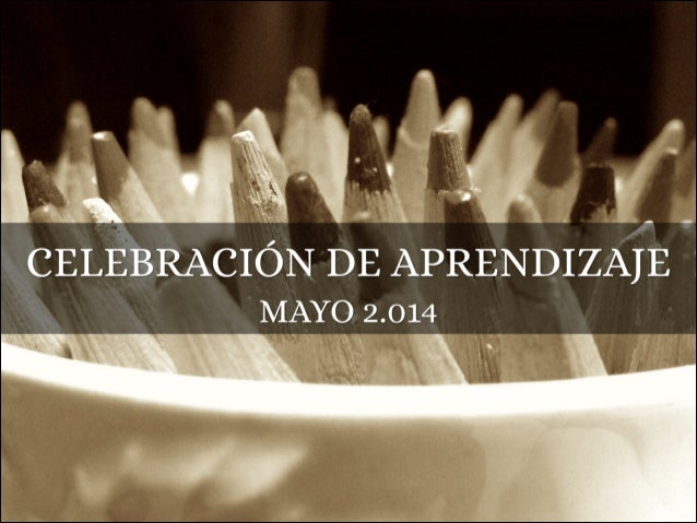 Celebration of Learning 2014