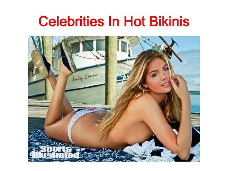 Celebrities In Hot Bikinis