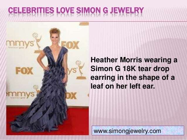 Celebrities love simon g jewelry