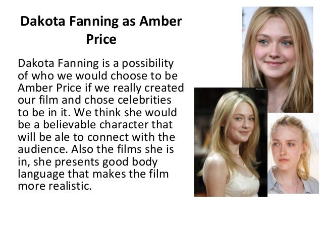 Celebrities we would select for our film Slide 2
