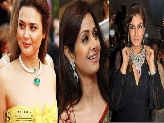 Celebrities who love to wear emerald gemstone jewelry