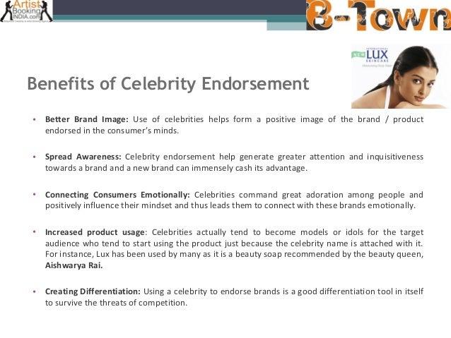 Celebrity endorsement industry in india