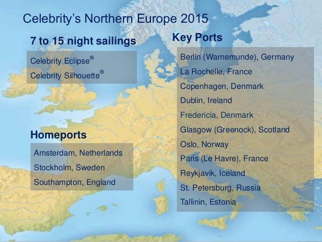 Celebrity Cruises Northern Europe, Norwegian fjords ...