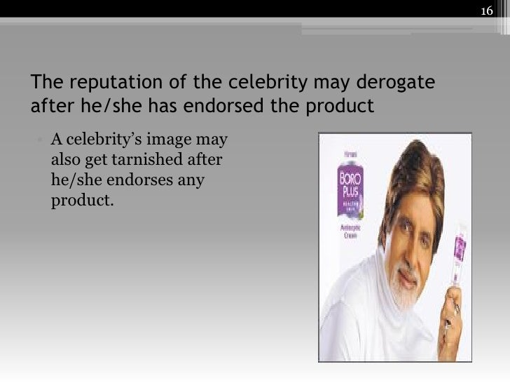 disadvantages of celebrity endorsement This free marketing essay on pros and cons of celebrity endorsement is perfect for marketing students to use as an example.