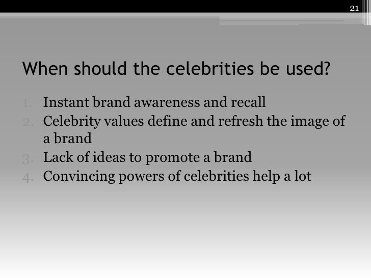 disadvantages of celebrity endorsement If the kate moss scandal of 2005 showed anything, it was the power of celebrity endorsement three companies immediately opted out of their contracts with the supermodel after a tabloid published .