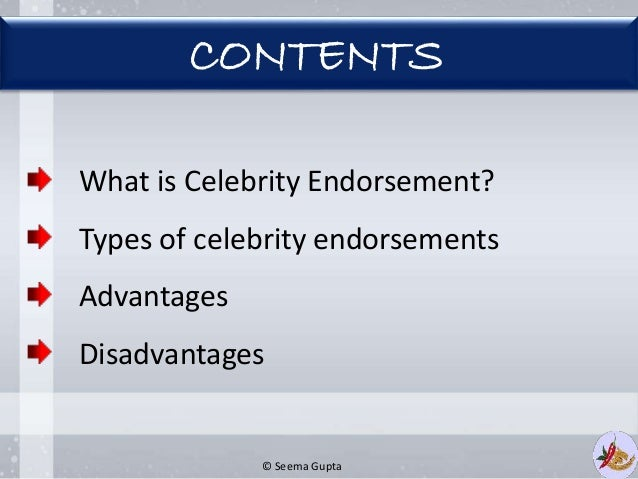 Branding And Celebrity Endorsements - Martin Roll