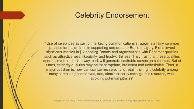 Controversial Celebrity Endorsements - Business Insider