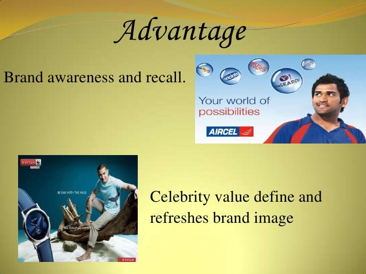 critically evaluate effect of celebrity endorsement And what implications might this new way of branding effect the current brands in this ever  (2011) this report will critically evaluate using aspects of 'figure 50: the.