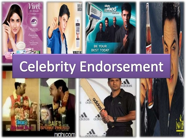 Product Endorsement, Celebrity Endorsement Project Report ...