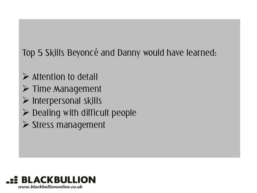 top skills beyonc eacute and