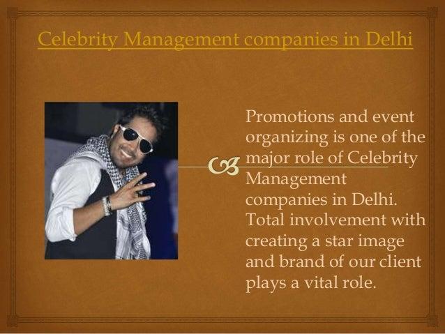 Celebrity management Slide 3