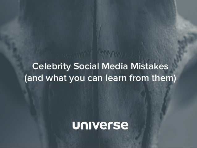 Biggest celebrity social media mistakes of 2017 – Flourish ...