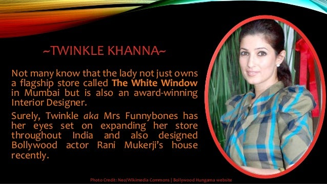Bollywood Hungama Website 4 TWINKLE KHANNA