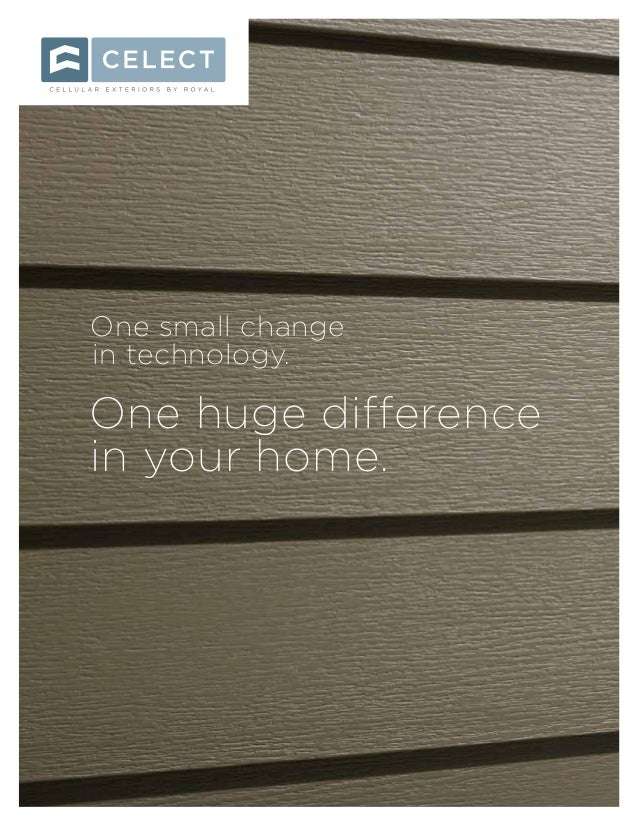 One small change in technology. One huge difference in your home.