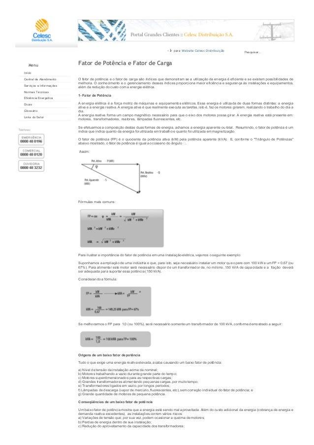 12/04/2015 CelescDistribuiçãoS.A.PortalGrandesClientesFatordePotênciaeFatordeCarga http://portal.celesc.co...